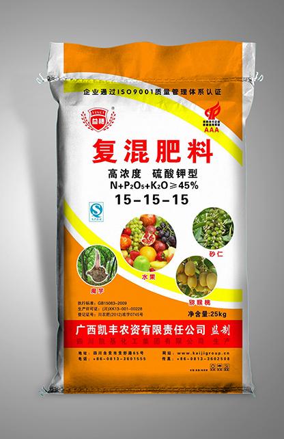 25kg复混肥料-硫酸钾型